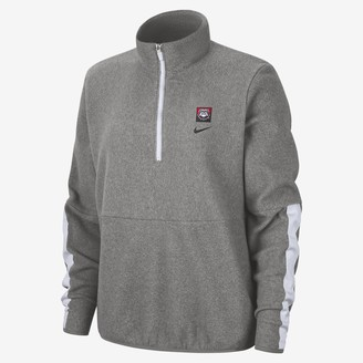 Nike Women's Long-Sleeve 1/2-Zip Fleece College Therma (Georgia)