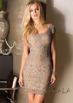 Scala 48489 Dress In Platinum