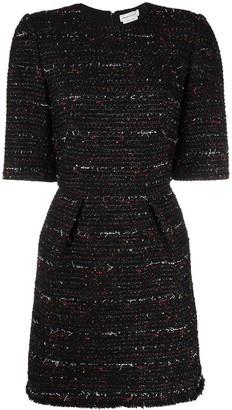 Alexander McQueen Melange Short Dress