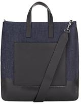 DKNY Denim Dip Dye Tote Bag, Blue