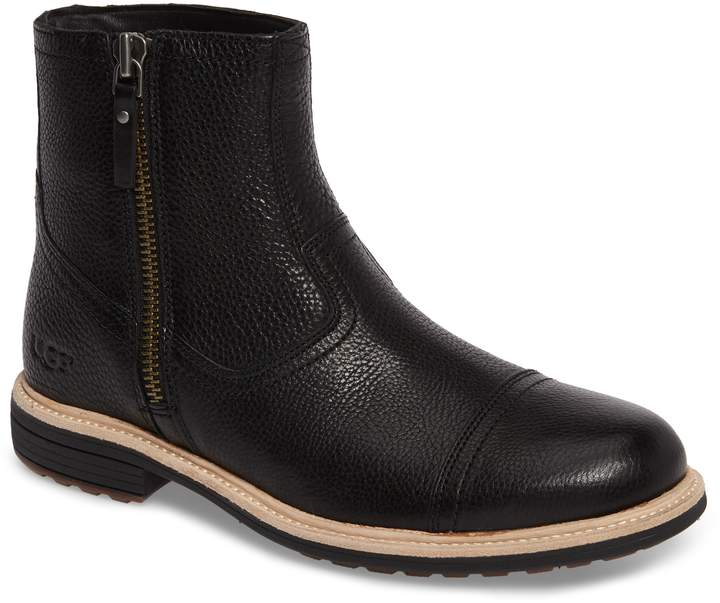 UGG Dalvin Zip Boot with Genuine Shearling