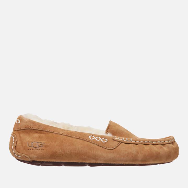 ec2f565fffa Women's Ansley Moccasin Suede Slippers - Chestnut