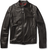 Schott Perfecto 530 Leather Café Racer Jacket - Black