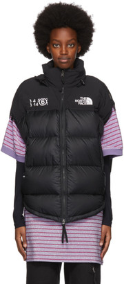 MM6 MAISON MARGIELA Black The North Face Edition Down Circle Jacket