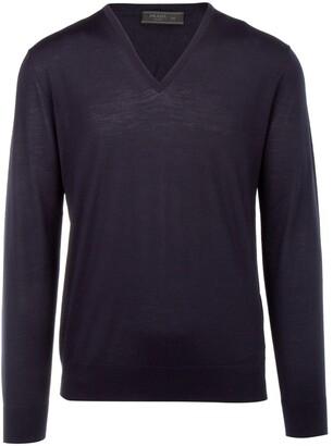 Prada Classic V-Neck Sweater
