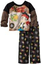 Disney Boys 2-7 X Marks The Spot Long Sleeve Pajama Set