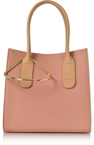 Roksanda Peach and Mastic Leather Mini Weekend Bag