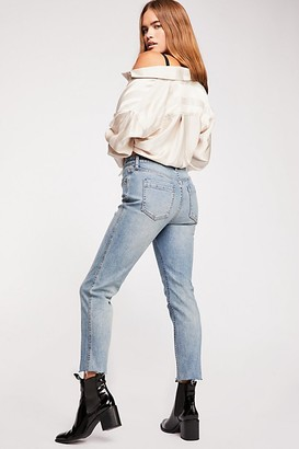 We The Free CRVY High-Rise Vintage Straight Jeans