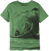 City Threads Big Wave Riding Graphic Tee (Toddler/Kid) - Elf-2T