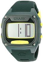 Freestyle Unisex 10025775 Shark Tooth Digital Display Japanese Quartz Green Watch