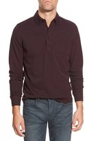 Bonobos Men's Standard Fit Long Sleeve Pique Polo Shirt
