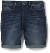 Mango Dark Denim Bermuda Shorts