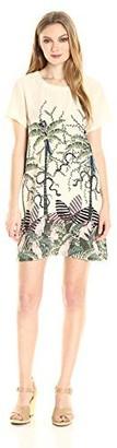 MinkPink Women's Sumatran Printed Tee Dress