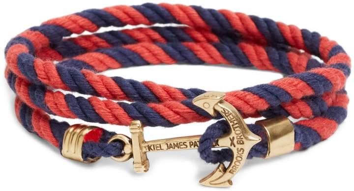 Brooks Brothers Kiel James Patrick Lanyard Hitch Cord Bracelet