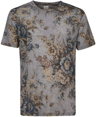 Etro Floral Printed T-shirt