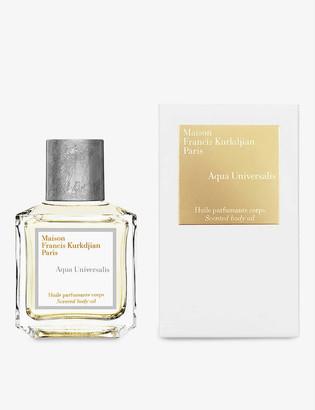 Francis Kurkdjian Aqua Universalis scented body oil 70ml