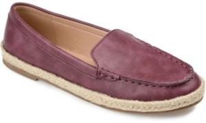 Journee Collection Women's Comfort Foam Balie Espadrille Flat Women's Shoes