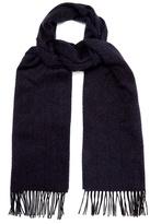 Ermenegildo Zegna Herringbone-woven silk scarf