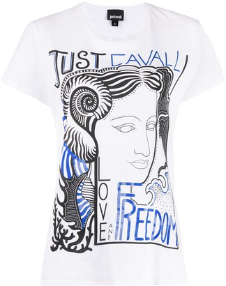 Just Cavalli Love Freedom T-shirt