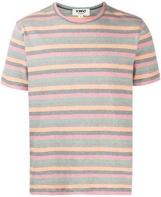 YMC striped short sleeve T-shirt