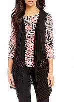 Ruby Rd. Lace Bottom Vest