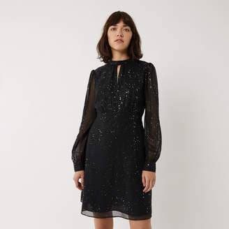 Warehouse GLITTER MINI DRESS