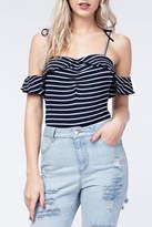 Pretty Little Things Sailor Stripe Bodysuit