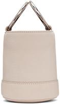 Simon Miller White Bonsai Bucket Bag