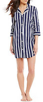 Lauren Ralph Lauren Striped Jersey Sleepshirt