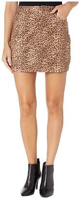 BB Dakota Here Kitty Skirt (Brown) Women's Skirt