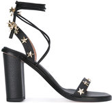 RED Valentino star detail sandals - women - Calf Leather/Leather - 36.5