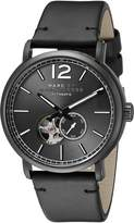Marc by Marc Jacobs Men's MBM9717 Fergus Stainless Steel Watch with Black Band