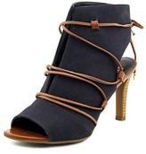 Franco Sarto L-quinera Open Toe Canvas Sandals.