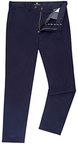 Aquascutum Langden Garment Dyed Moleskin Suit Trousers, Navy