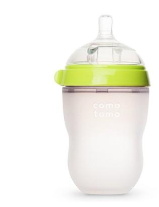 Comotomo Natural Flow Baby Bottle Colic Prevention Green 250 ML
