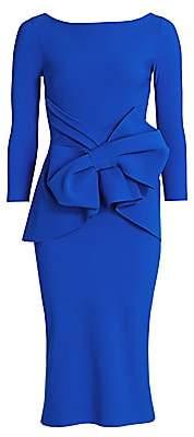 Chiara Boni Women's Yolanda Bow Sheath Dress