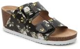 Kensie Wenda Floral Wedge Sandal