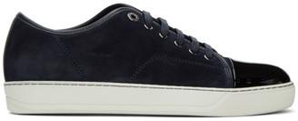 Lanvin Blue Suede DBB1 Sneakers