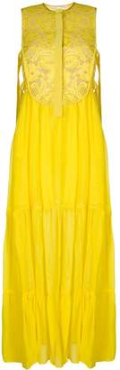 Miahatami floral lace maxi dress