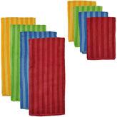 Asstd National Brand Stripe 8-pc. Dish Towel and Dishcloth Set