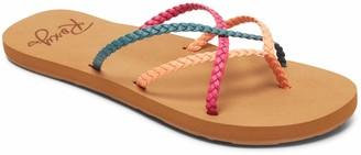 Roxy Women's Trinn Strappy Flip Flop Sandal