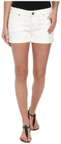 Paige Jimmy Jimmy Short in Optic White