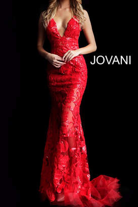 Jovani Sexy Embellished Gown