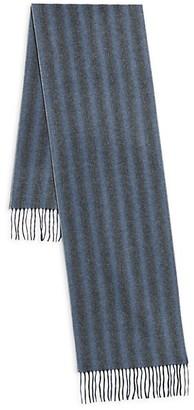 Saks Fifth Avenue Striped Cashmere Scarf
