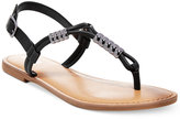 Bar III Vortex Flat Sandals, Created for Macy's