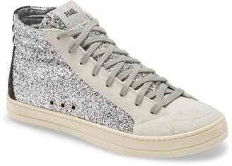 P448 Skate Glitter High Top Sneaker