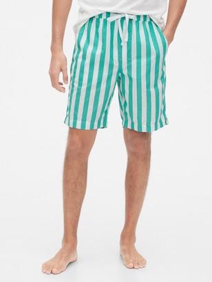 Gap Pajama Shorts in Poplin