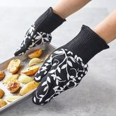 Sur La Table Floral Vine Oven Gloves, Set of 2