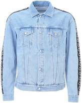 Marcelo Burlon County of Milan Kappa Denim Jacket