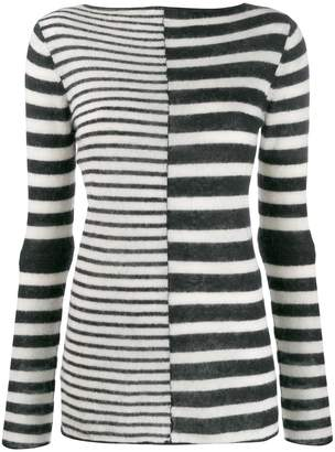 By Malene Birger striped two tone jumper